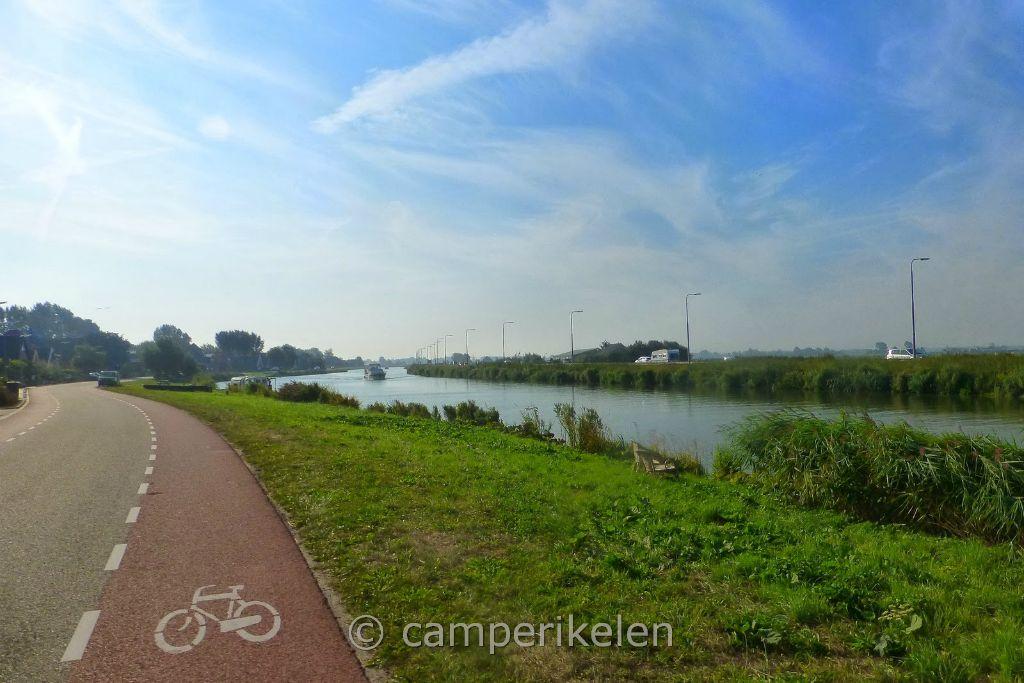 Fietsen naar Alkmaar