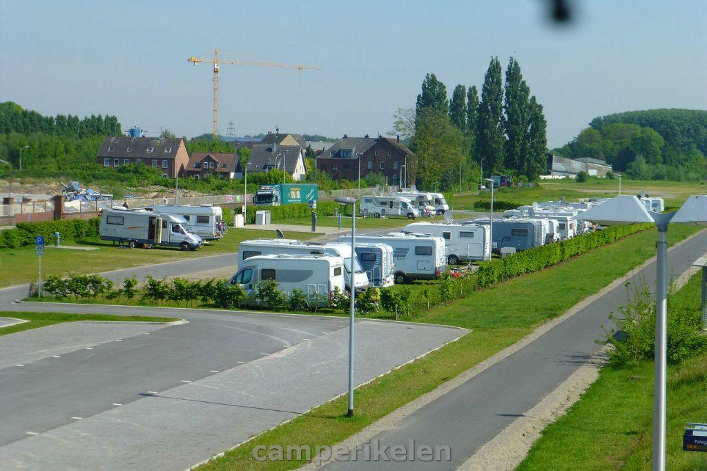 Camperplaats Bahnhof Kleve