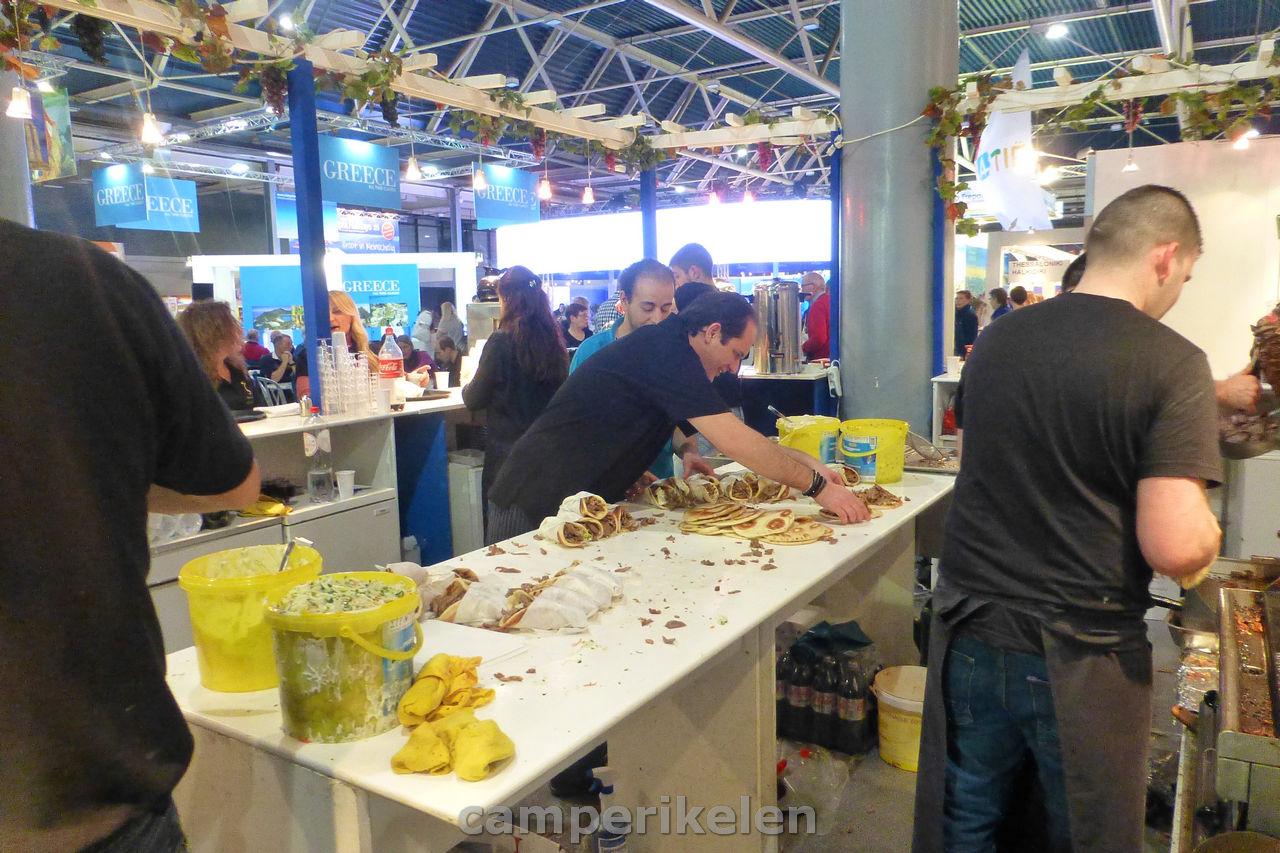 Wraps maken in de Griekse keuken