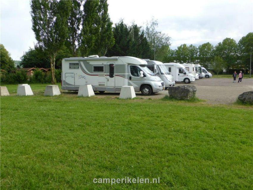 Camperplaats aan het Lac de Vesoul Vauvre