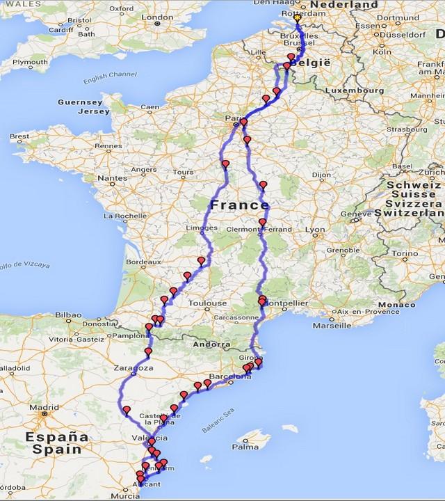 Frankrijk / Spanje 2015