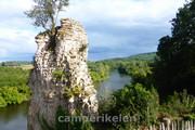 Uitzicht op de Dordogne