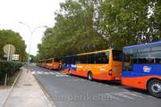 Schoolbussen in Baderieux