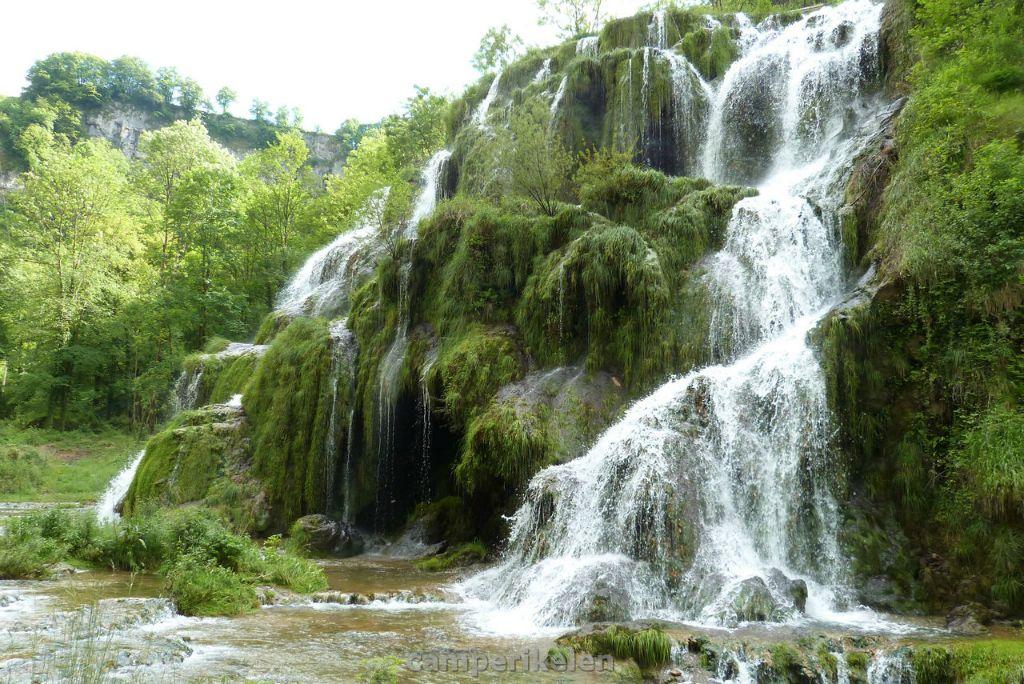 Watervallen bij Baume les Messieurs