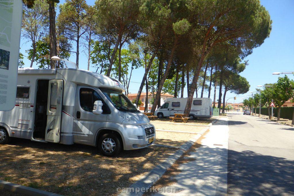 Camperplaats Caldes de Madavella