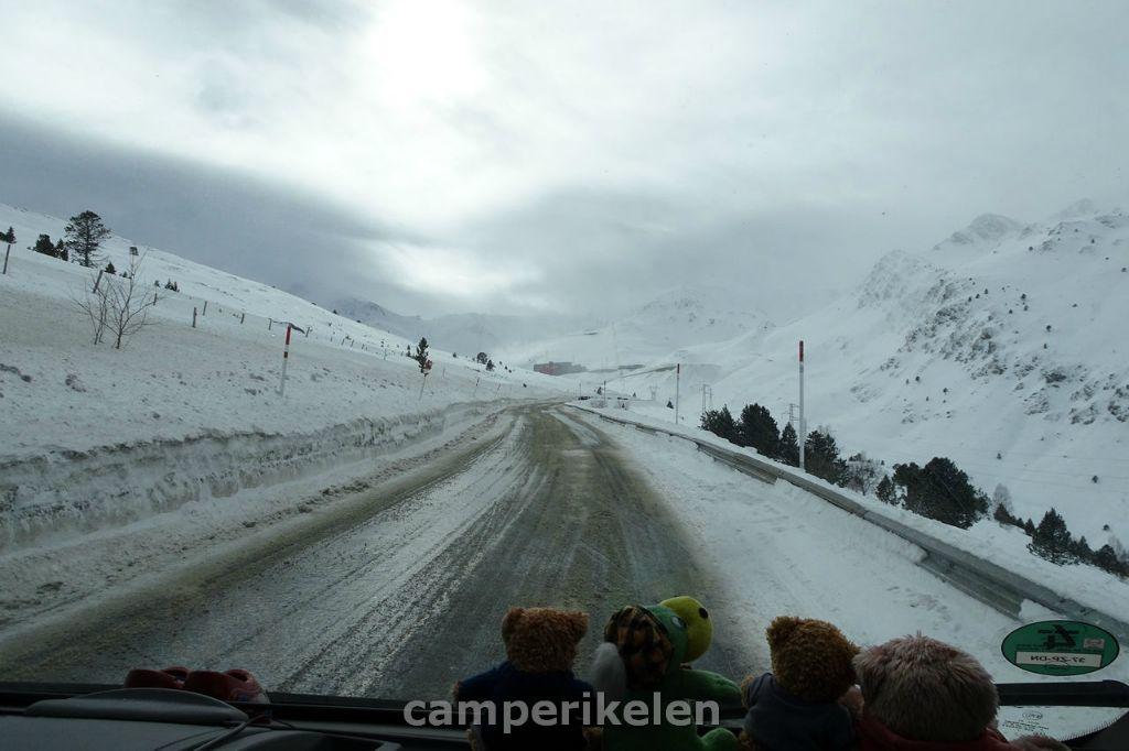 Op weg naar Andorra