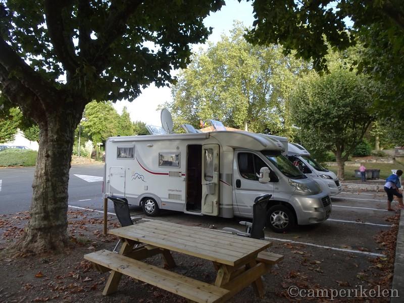 Camperplaats Vivonne