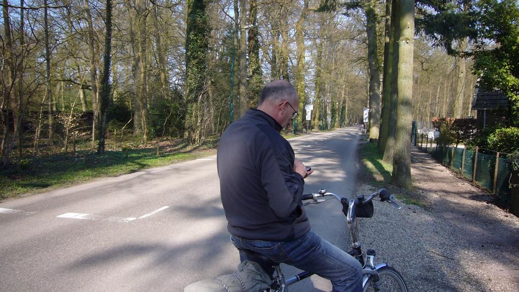 Eindje fietsen