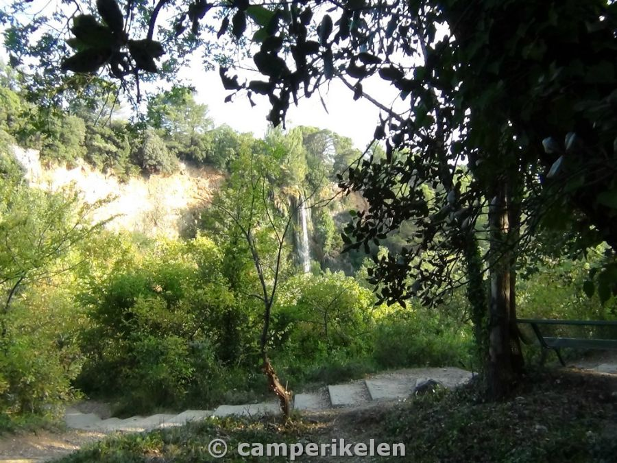 Watervallen van Sillans