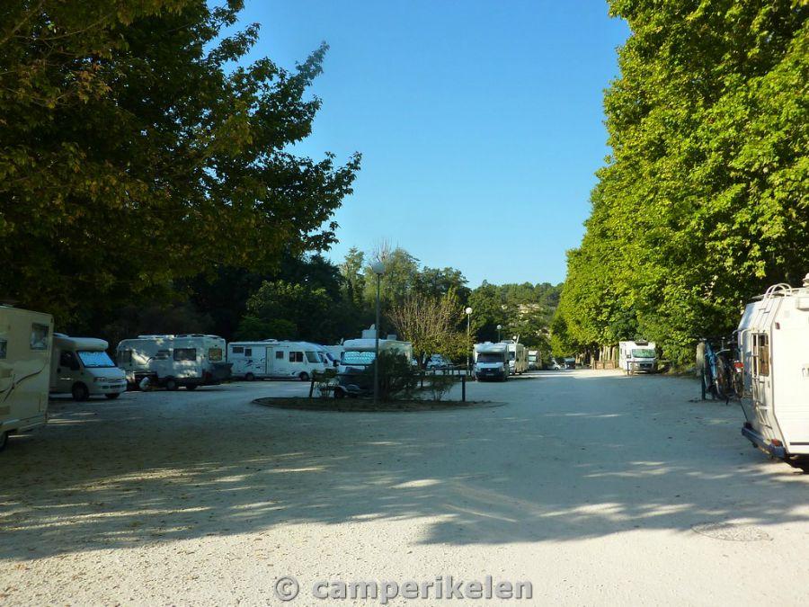 Camperplaats Fontaine de Vaucluse
