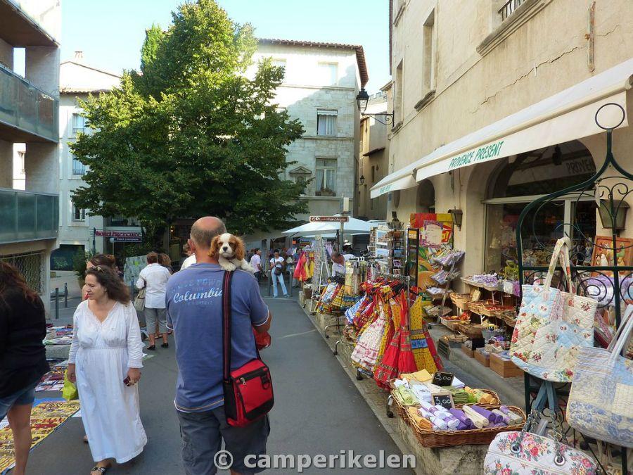 Markt in Avignon