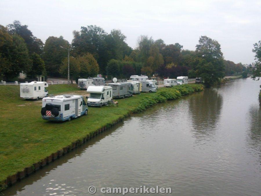 Camperplaats Thaon les Voges
