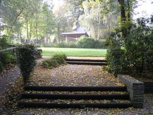 Park vlakbij de camperplaats