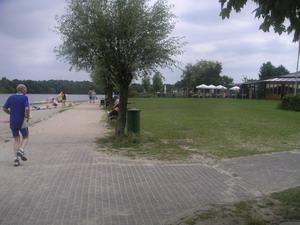 Pad langs Dreiländersee