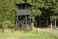 Wachttoren bij kamp Westerbork
