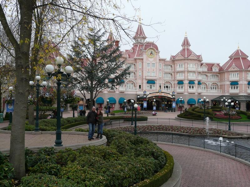 Ingang Disneyland park