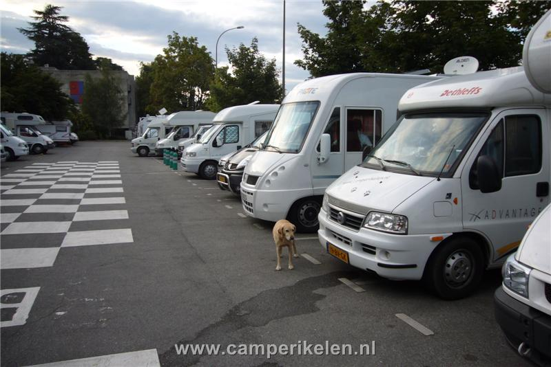 Camperplaats Annecy