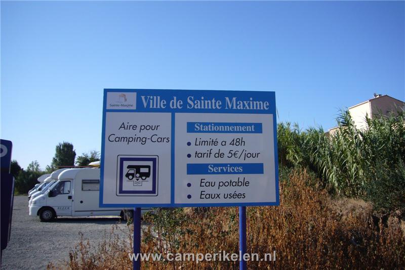 Camperplaats St. Maxìme