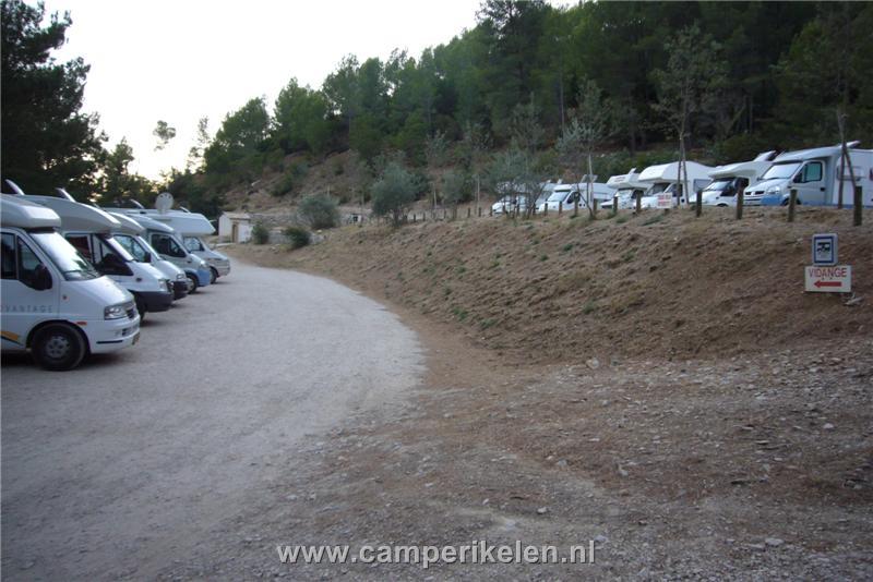 Camperplaats Cuges les Pins
