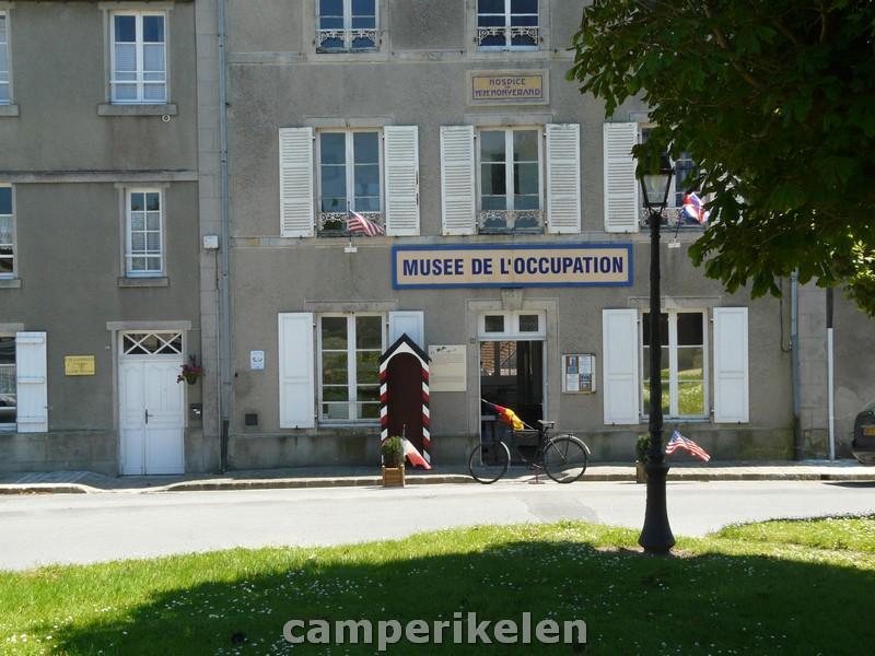 Oorlogsmuseum in St. Marie du Mont