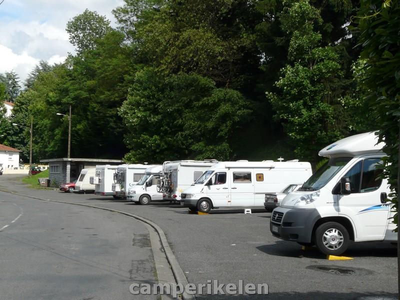 Parkeerplaats Lourdes