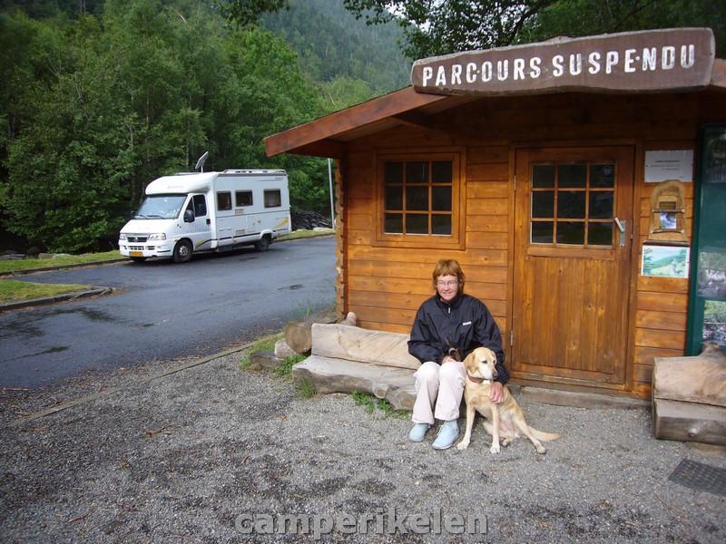 Laatste overnachting in Frankrijk