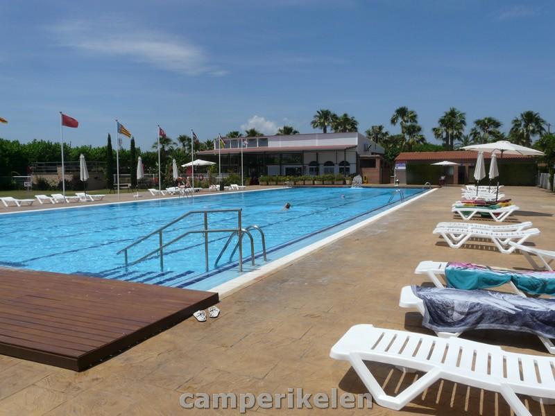 Zwembad Camping Playa Cambrils