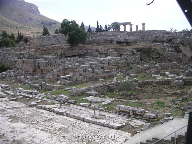 Opgravingen in Oud Corinthe