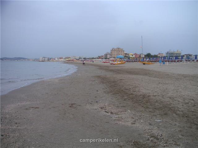 Strand van Riccione