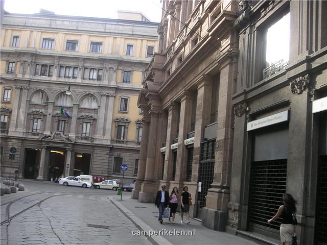 Oude gebouwen in Milaan