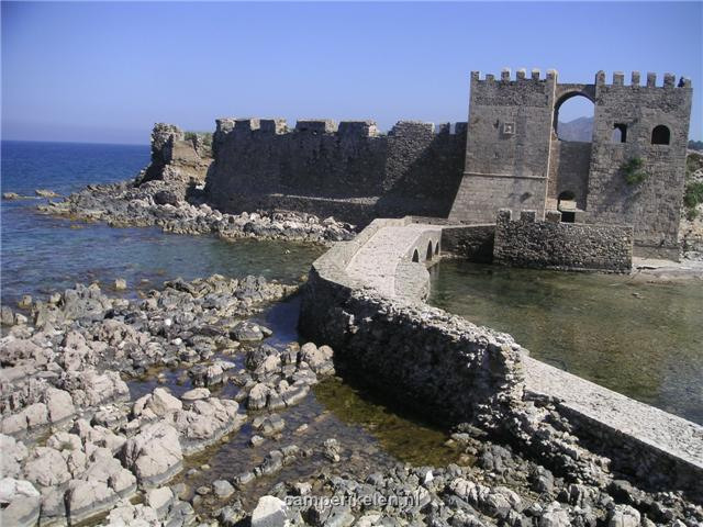 Venetiaanse vesting in Methoni
