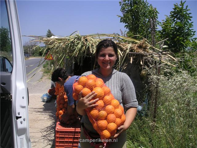 Zakje sinaasappels