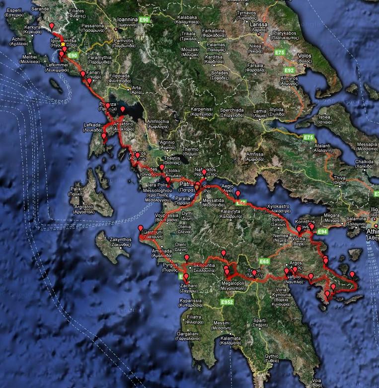 Griekenland (Peloponessos) 2008
