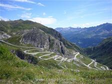 Bovenop de St Gotthard