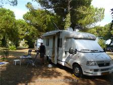 Camperplaats bij Rimini
