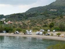 Aan de baai bij Palea Epidavros