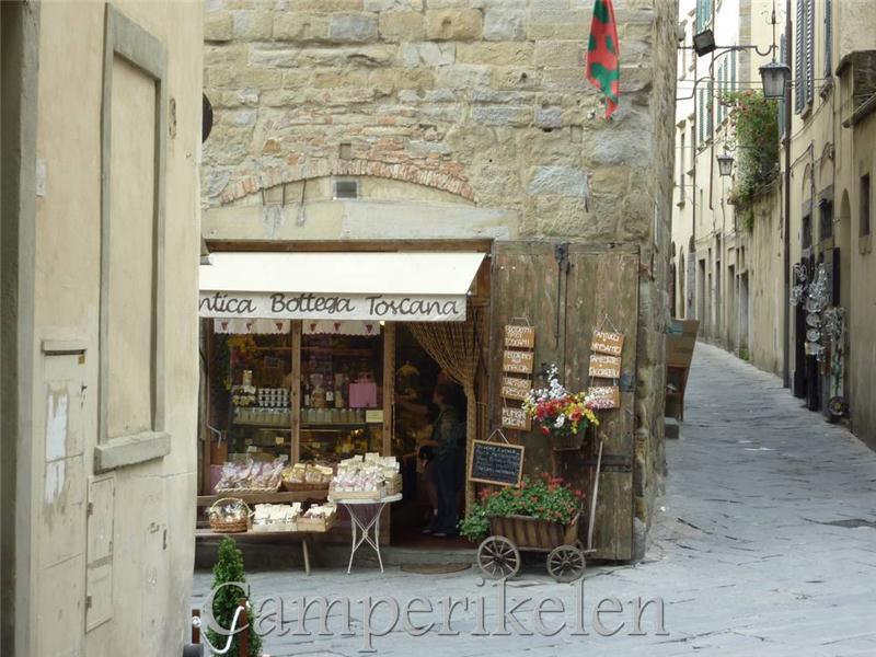 Straatjes in Arezzo