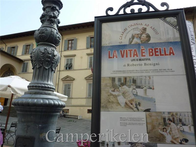 "De film ""La Vita è Bella"" is hier opgenomen"