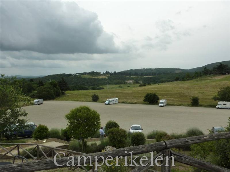 Camperplaats Monterigione
