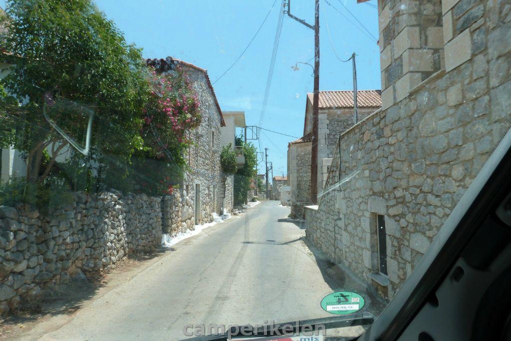 Smalle straatjes in Agios Nikolaos