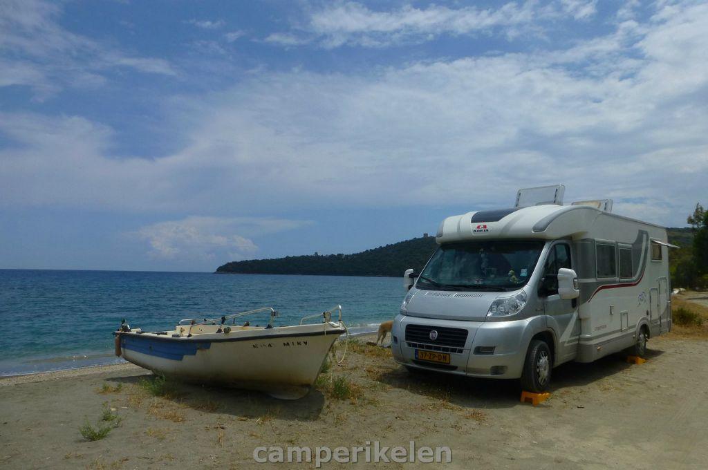 Op het strand bij Gythio