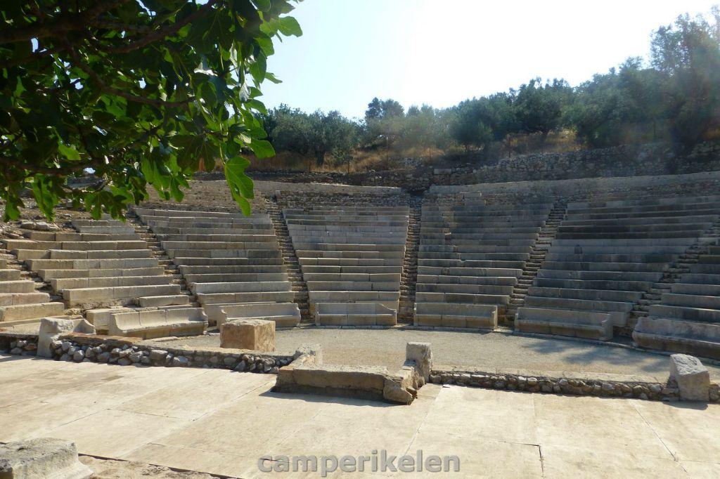 Kleine theater bij Palea Epidavros