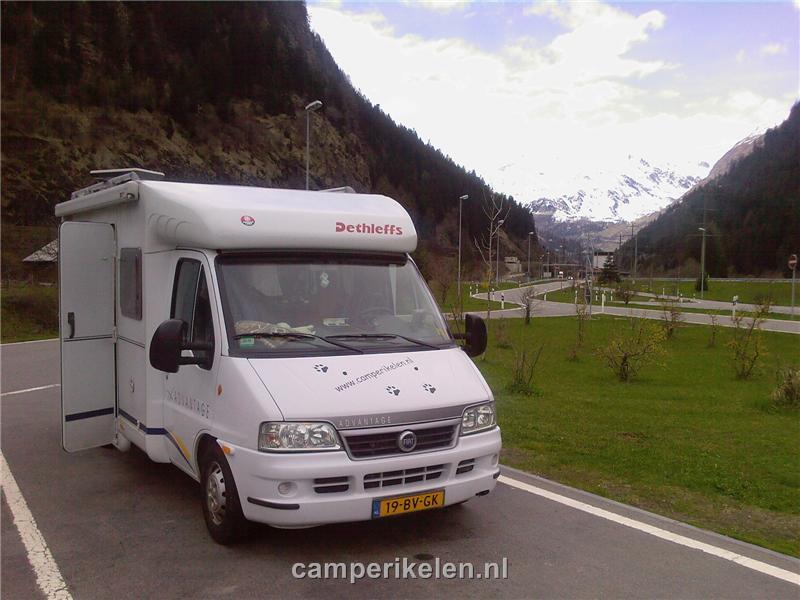 Stop na de St Gotthard