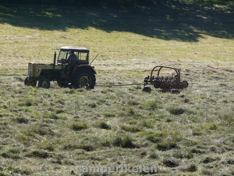 Oude landbouwwerktuigen