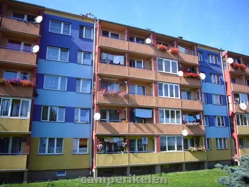 Opgeknapte flats