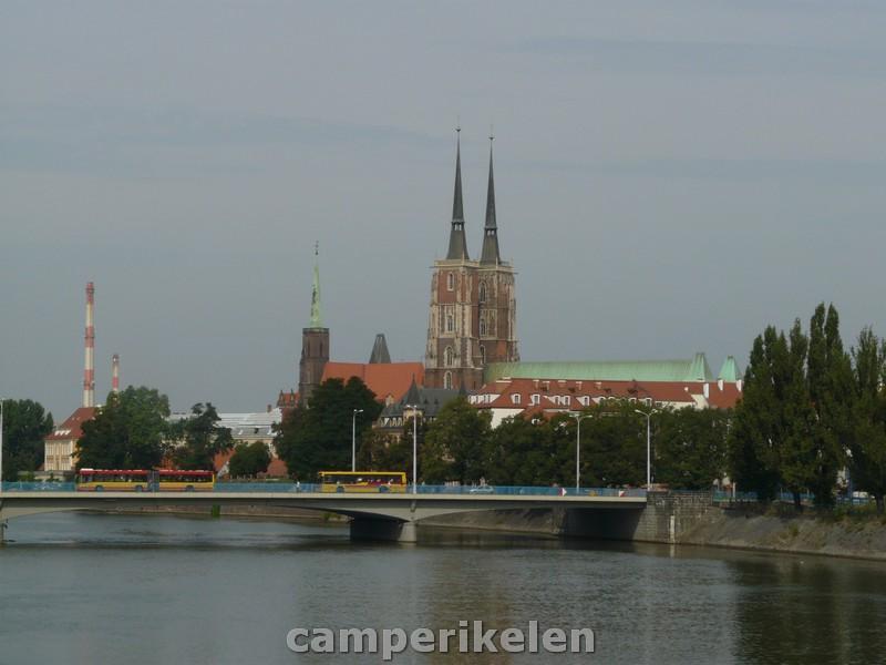 Wroclaw aan de Oder