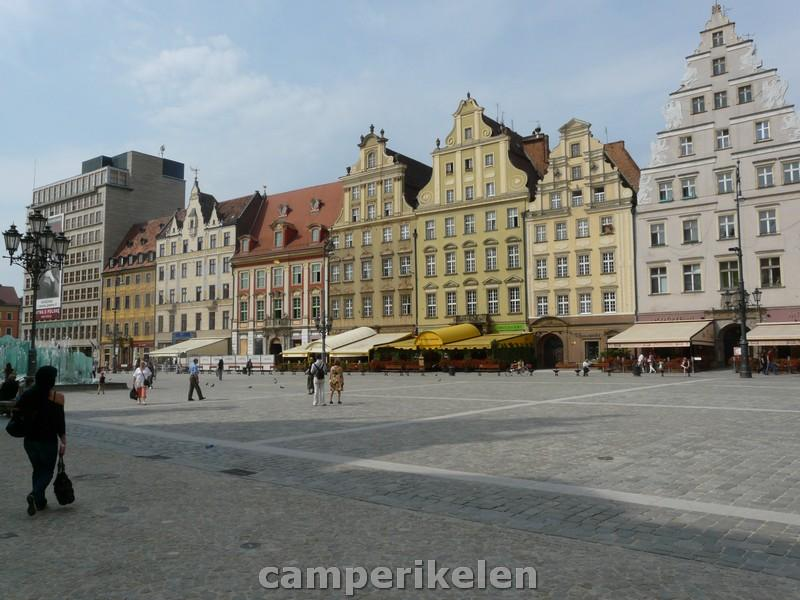 Marktplein (Rynek) van Wroclaw