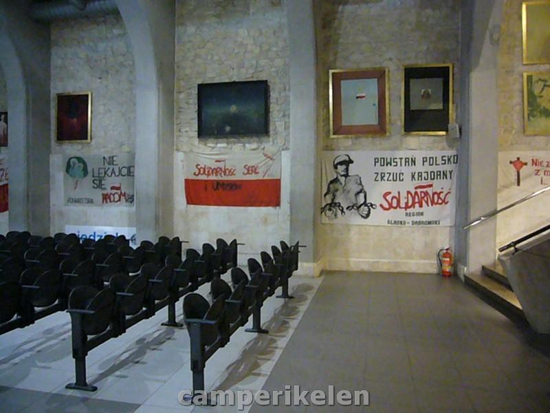 Tentoonstelling van de Solidarnosc