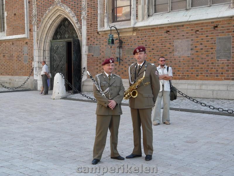 Militaire muzikanten