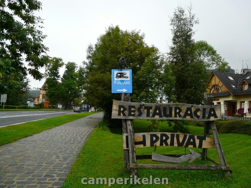 Camperplaats Tatranská Lomnica